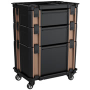 Vaunt 12039 Vaunt Stackable Case Trolley Set