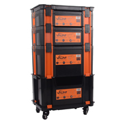 Vaunt 12058 Vaunt 12058 Stackable Case Trolley Complete Set
