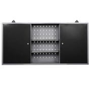 Vaunt 12072 Vaunt Wall Cabinet Double with Shelving Section