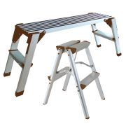 Vaunt 16013 Aluminium Workstand & Step-Up Stool Pack