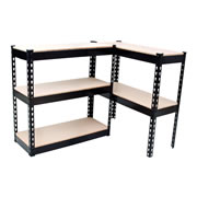 Vaunt 16023 Vaunt L Beam Shelving (1066 x 406 x 1828mm)