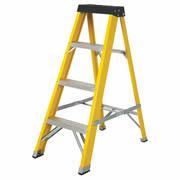 Vaunt 16030 1.11m 4 Tread Fibreglass Step Ladder