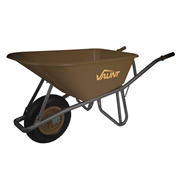Vaunt Challenger Vaunt 100Ltr Wheelbarrow - Brown