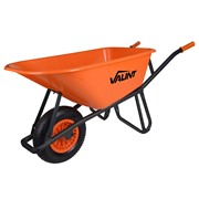 Vaunt Challenger Vaunt 100Ltr Wheelbarrow - Orange