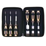 Vaunt 20070 6 Piece Chisel Set (Brown)
