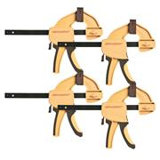 "Vaunt Heavy Duty Quick Grip Clamps (12"") - Pack of 4"