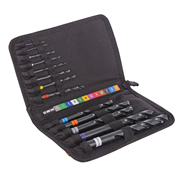 Vaunt 26450 Vaunt 13 Piece Colour Coded HSS Cobalt Drill Bit Set