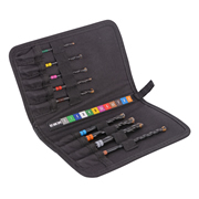Vaunt 26500 Vaunt 9 Piece Colour Coded Multiconstruction Drill Bit Set