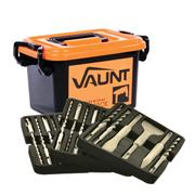 Vaunt 30004 Vaunt 24 Piece SDS+ Hammer Drill Bit and Chisel Trade Pack