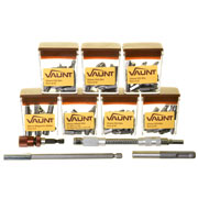 Vaunt VNT30007 129 Piece Screwdriver Bit Trade Pack (Brown)