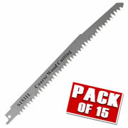 Vaunt VNT30031 Vaunt Wood Cutting Reciprocating Saw Blades - Pack of 15