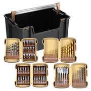 Vaunt 30054 79 Piece Drill Accessory Set with Tool Tote