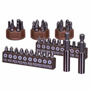 Vaunt 30062 Vaunt 40 Piece Screwdriver Set & 2 x Magnetic Holders