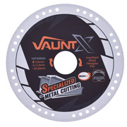 Vaunt X 302842 115mm Diamond Vacuum Brazed Metal Cutting Disc