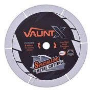 Vaunt X 302872 300mm Diamond Vacuum Brazed Metal Cutting Disc