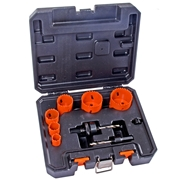 Vaunt 30324 Bi-Metal 9 Piece Hole Saw Kit