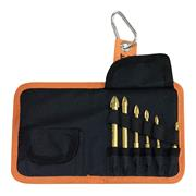 Vaunt 31388 Vaunt Tile & Glass Cross Tip Drill Bit Set - 6 Piece