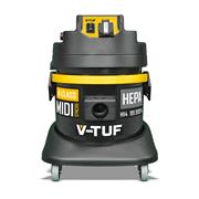 V-Tuf MIDI SYNCRO H Class 21L Dust Extractor with Powertool Takeoff Syncro