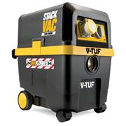 V-Tuf STACK STACKVAC 30L M Class Wet & Dry Storage Dust Extractor with Powertool Syncro