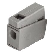 Wago 51002101 Wago 224-101 1-Conductor Lighting Push Wire Splicing Connector - Pack of 20