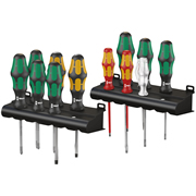 Wera 051010 Kraftform XXL 12 Piece Screwdriver Set PH/PZ/SL