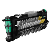 "Wera 5056490001 Tool-Check Plus 1/4"" Drive 39 Piece Ratchet with Socket Set"