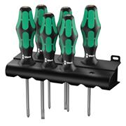 Wera 105622 Kraftform 335/350/355/6 300 Series 6 Piece Screwdriver Set