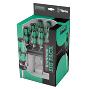 Wera 105630 Kraftform Big Pack 300 General Purpose 14 Piece Set