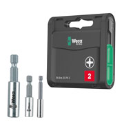 Wera 775PH1 Wera PH2 Screwdriver Bits & Holder Kit 1