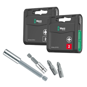 Wera WERAB001 Impact Bit & Holder Pack