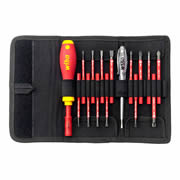 Wiha WHA36068 2831T16 VDE 16 Piece Slimvario Screwdriver Set SL/PH/PZ