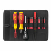 Wiha WHA40674 2872 T13 VDE TorqueVario 13 Piece Screwdriver Set SL/PH/PZ