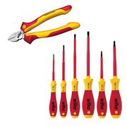 Wiha WHASET VDE Screwdriver & Cutter Set