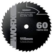 Worx  115mm 60T HSS blade for WORXSAW XL