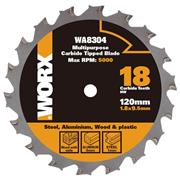 Worx  120mm Multipurpose Blade for WORXSAW XL