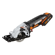 Worx WX527 20v MAX 85mm Laser Guided WorxSaw with 1 x 2Ah Battery