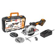 Worx WX531 Worx WX531 20V Cordless Brushless 120mm Circular Saw with 1 x 2Ah Battery and Charger