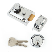 Yale B-77-CH-CH-60 Yale 77 Traditional Nightlatch 60mm - Chrome