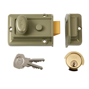 Yale B-77-ENB-PB-60 Yale 77 Traditional Nightlatch 60mm - Polished Brass