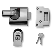 Yale B-BS1-CH-CH-60 BS1 Max Security Nightlatch 60mm - Chrome