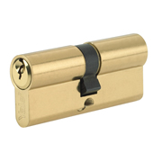 Yale B-ED3535-PB Yale 80mm Euro Double Cylinder - Polished Brass