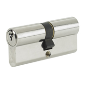 Yale B-ED3535-SNP Yale 80mm Euro Double Cylinder - Satin Nickel Plate