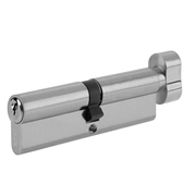 Yale B-ET4045-SNP Yale 95mm Euro ThumbTurn Cylinder - Satin Nickel Plate
