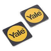 Yale P-YD-01-CON-RFIDT-WB Yale Black Keyless Connected Phone Tags (Pack of 2)