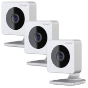 Y-Cam HMHDI073PKB Y-Cam EVO HD Wireless Security Camera Pack of 3