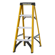 Youngman 52477718 S400 Fibreglass 4 Tread Step Ladder