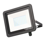 Zinc ZN-31296-BLK Otley 50w Slimline LED Floodlight - Black