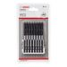 Bosch 2608522349 Bosch T20/T25 110mm Double Ended Impact Screwdriver Bits - Pack of 8