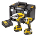 Dewalt DCK2088P2T 18v XR Brushless Impact Driver & Impact Wrench Twin Pack