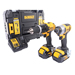 Dewalt DCZ285M2T 18v 2 Piece Kit With 2x 4.0Ah Batteries